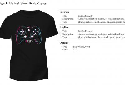 Print On Demand Shirt Overview